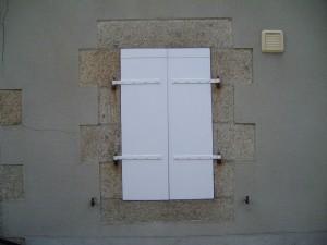 shutters, window