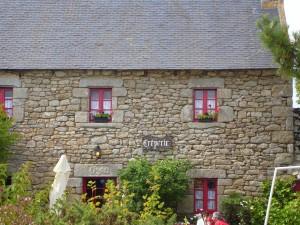 traditionnelle, en bois, fenêtres, maison