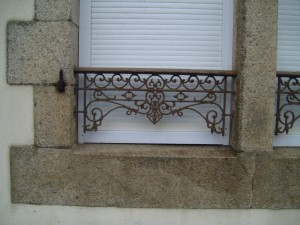okna, ogrodzenia