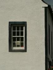 window, white wall