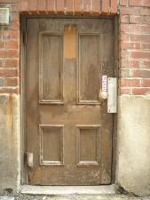 wooden, old, door