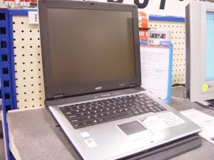 acer, aspire, 2355xc, ordinateur portable, ordinateur, magasin