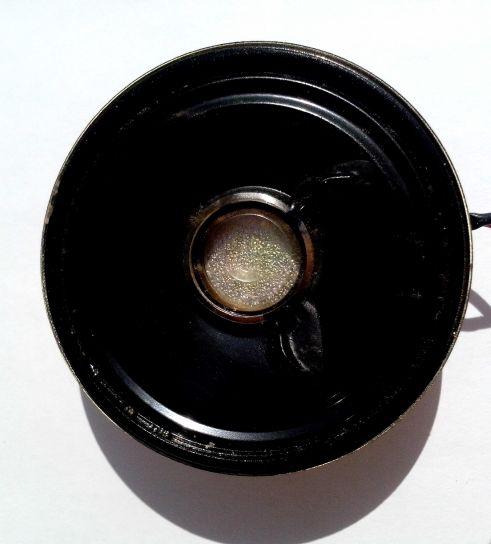 black, speaker, white, background