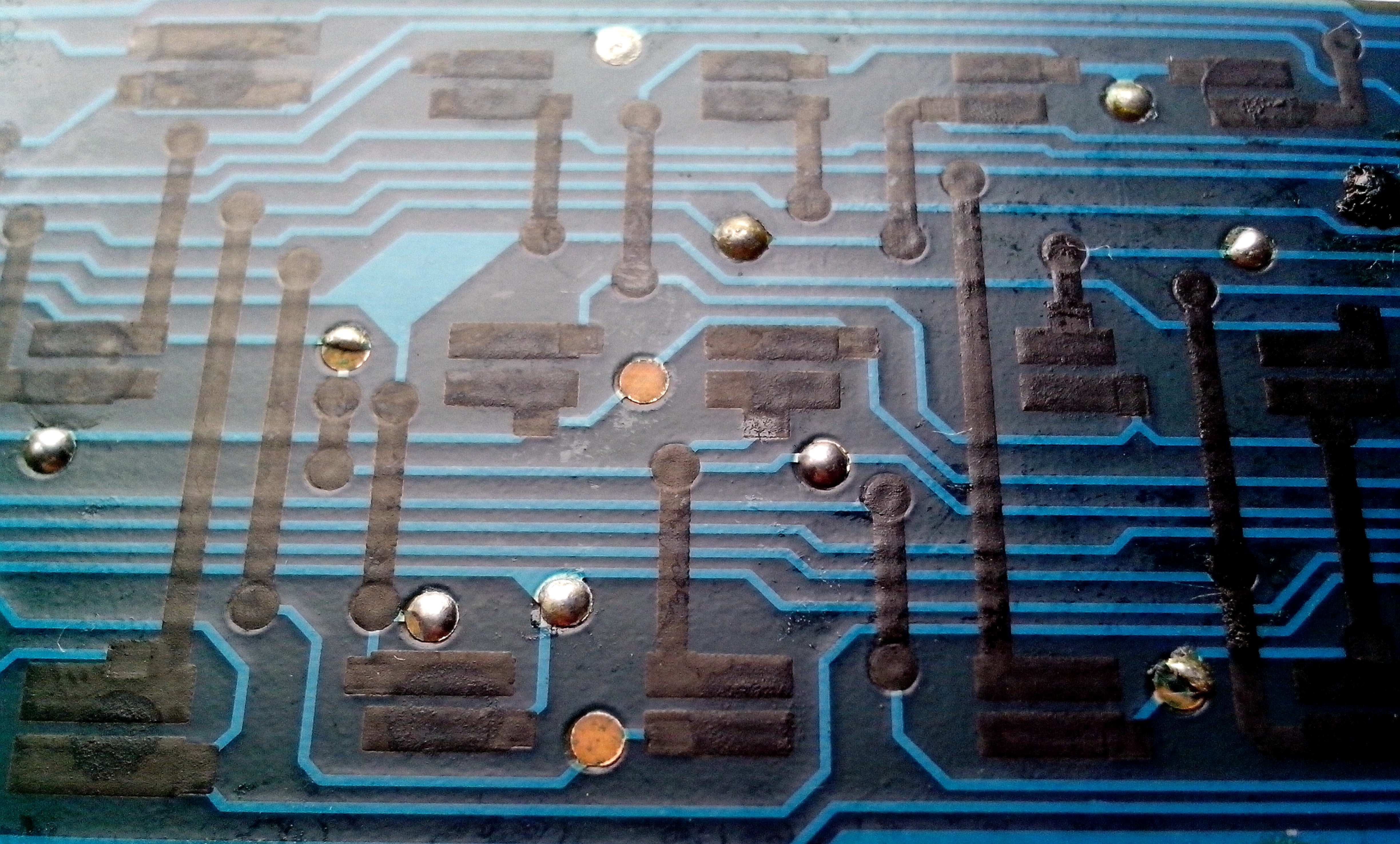 Free photograph; blue, remote, control, motherboard