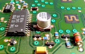 computer, chips, conductors, board