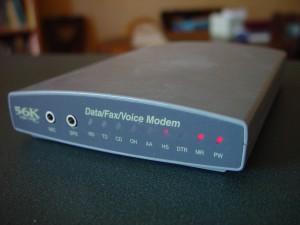 externe rs232 serieel, dialup, fax, modem