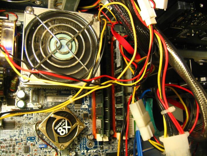 carte mère, ordinateur, composant