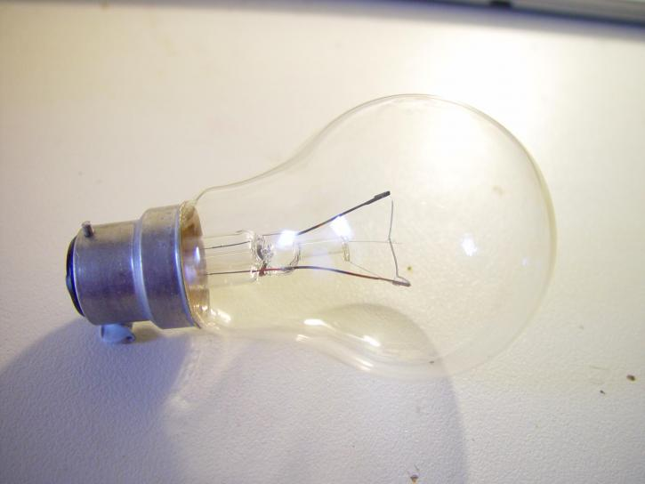 light, bulb, clear, bayonet, fitting