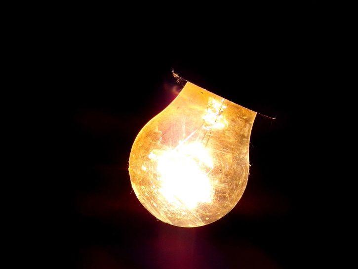 light, bulb, darkness