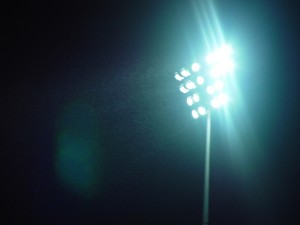 stadium, lights