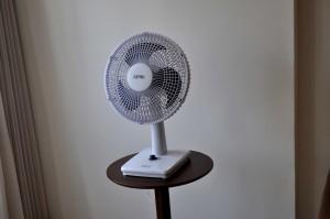 électrique, chambre, ventilateur