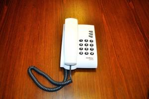 домашній телефон із пластику, цифрові телефонні