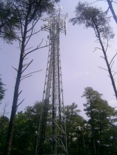 large, cell, tower