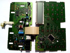 layar, motherboard, rumah, telepon