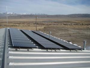 photovoltaïque, direct, conversion, la lumière, l'électricité, atomique, niveau