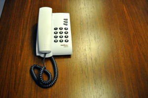 plain, short plastic, landline, phone, buttons