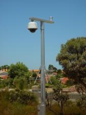 security, camera, currambine, railway, station