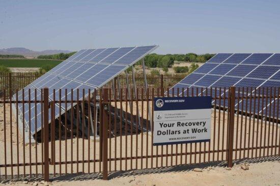 solar, panels, installed