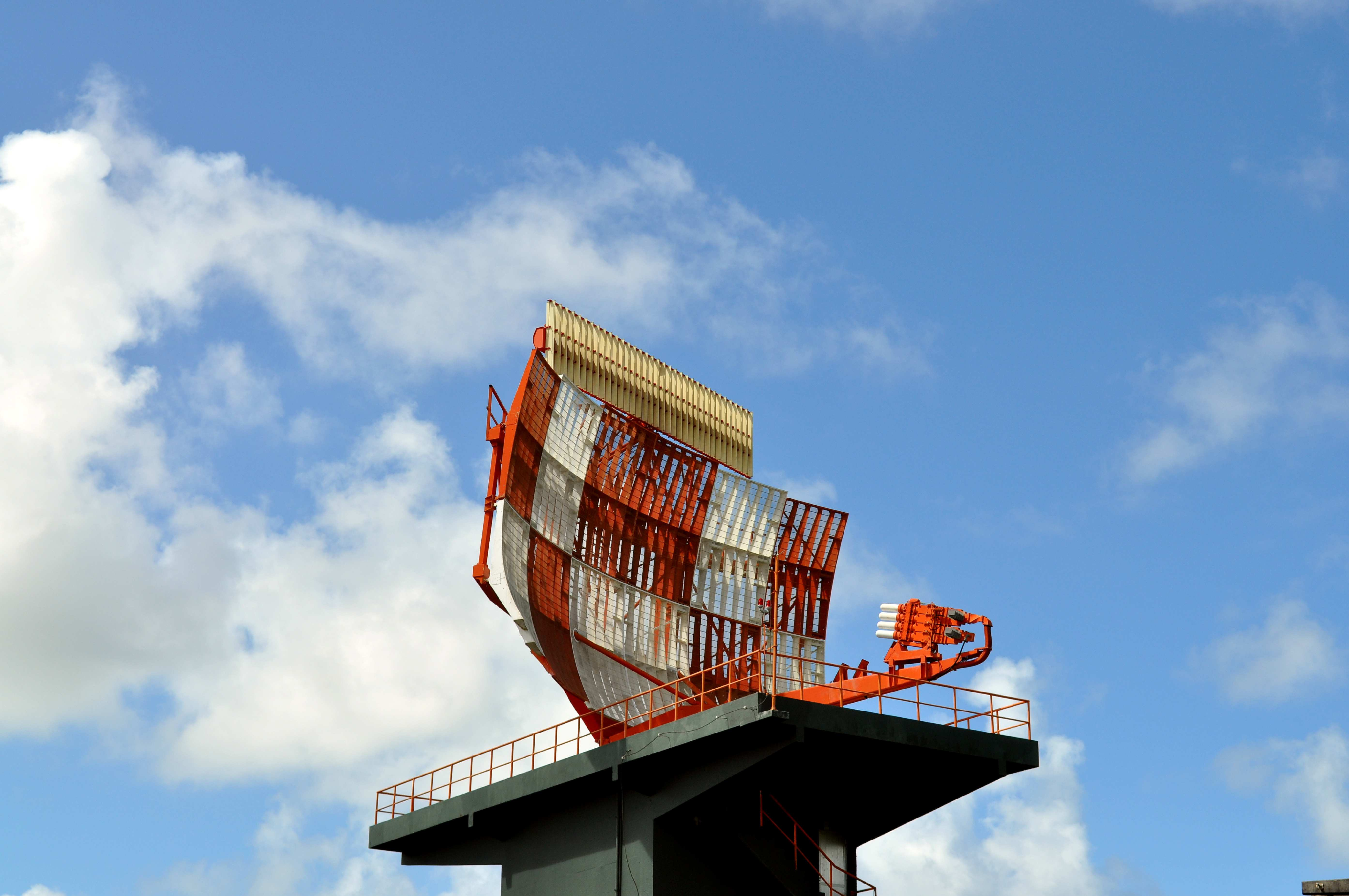 Free photograph; tele, electronic, navigation, device, antenna, radar