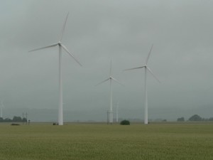 wind turbines, electricity, generators