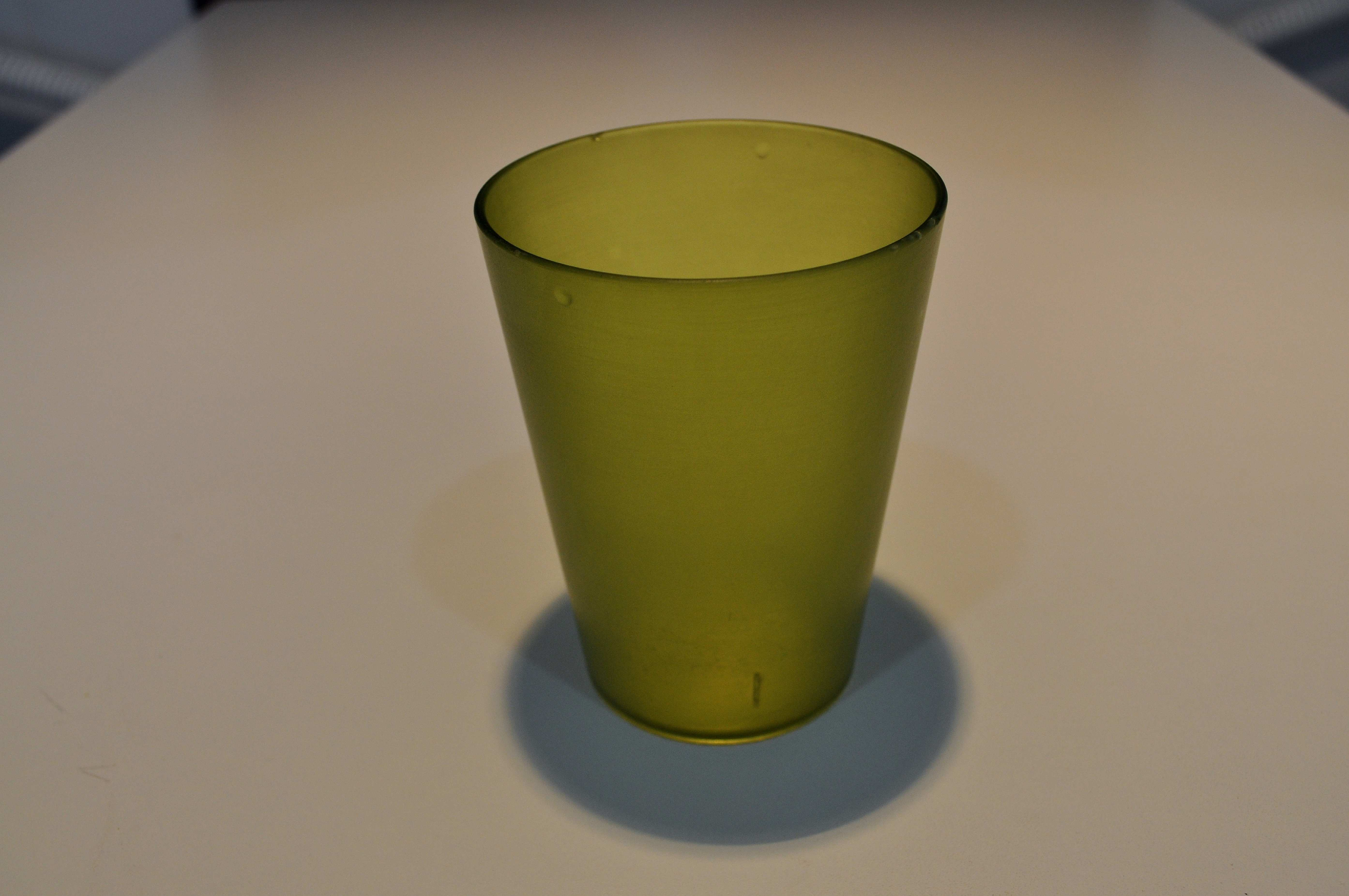 Free photograph; close, green, empty, glass