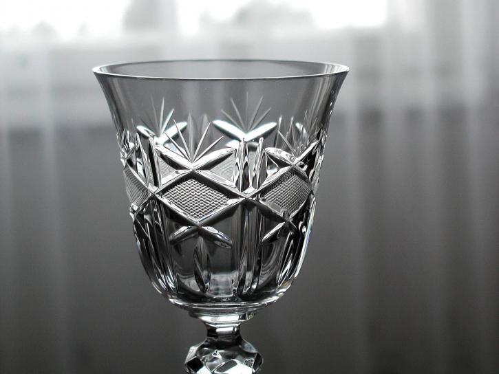 crystal, glass