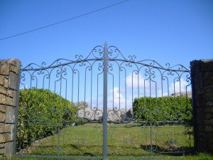 great, iron, work, iron, fence