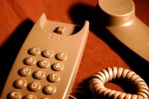 groud, téléphone, ligne