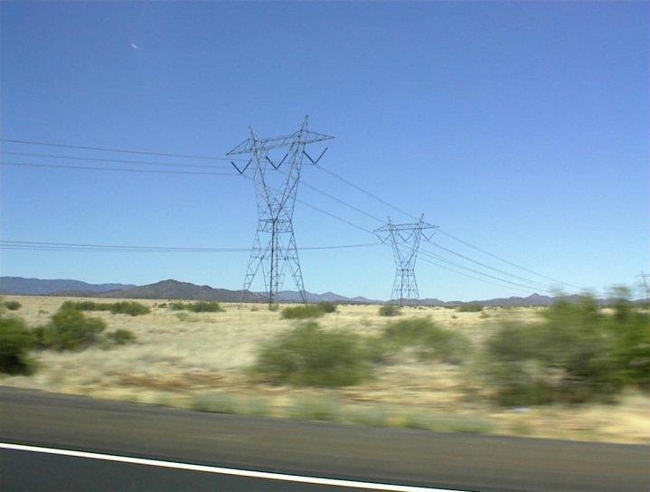 високо, напрежение, електрически, проводници