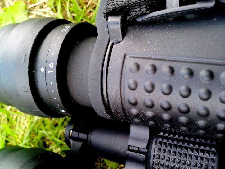 hunting, binoculars, close