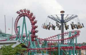 inverted, roller, coaster