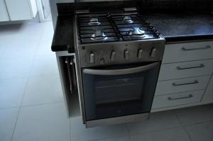 cuisine, gaz, cuisinière