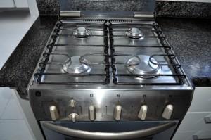 kuhinja, plin, štednjak, blizu