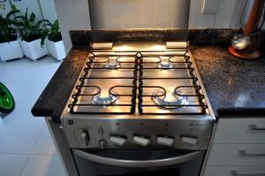 kitchen, gas, stove, light