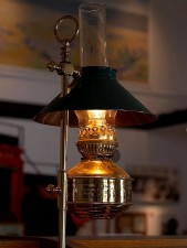 linterna, lámpara, fuego