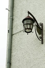 old, iron, work, street, lamp