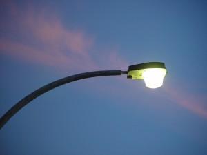 rue, lumière, strie, rose, coucher de soleil, nuage