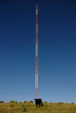 grande antenne de transmission