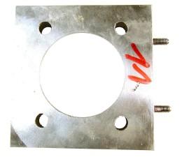métallique, partie, fer, chrome