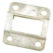 métallique, partie, acier