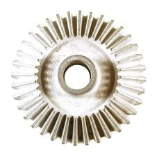 metallic, part, steel, gear