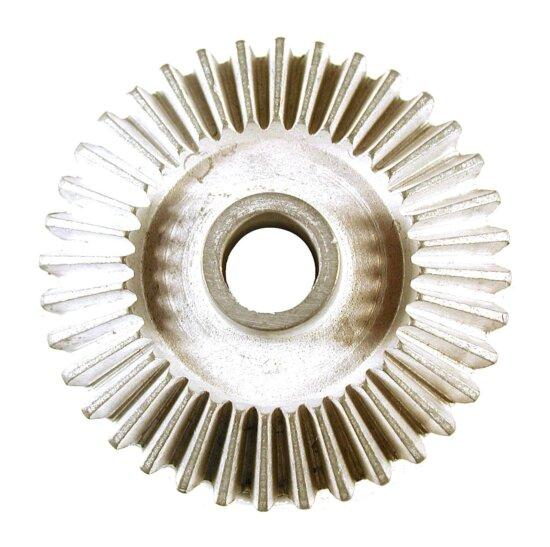 métallique, partie, acier, engrenage