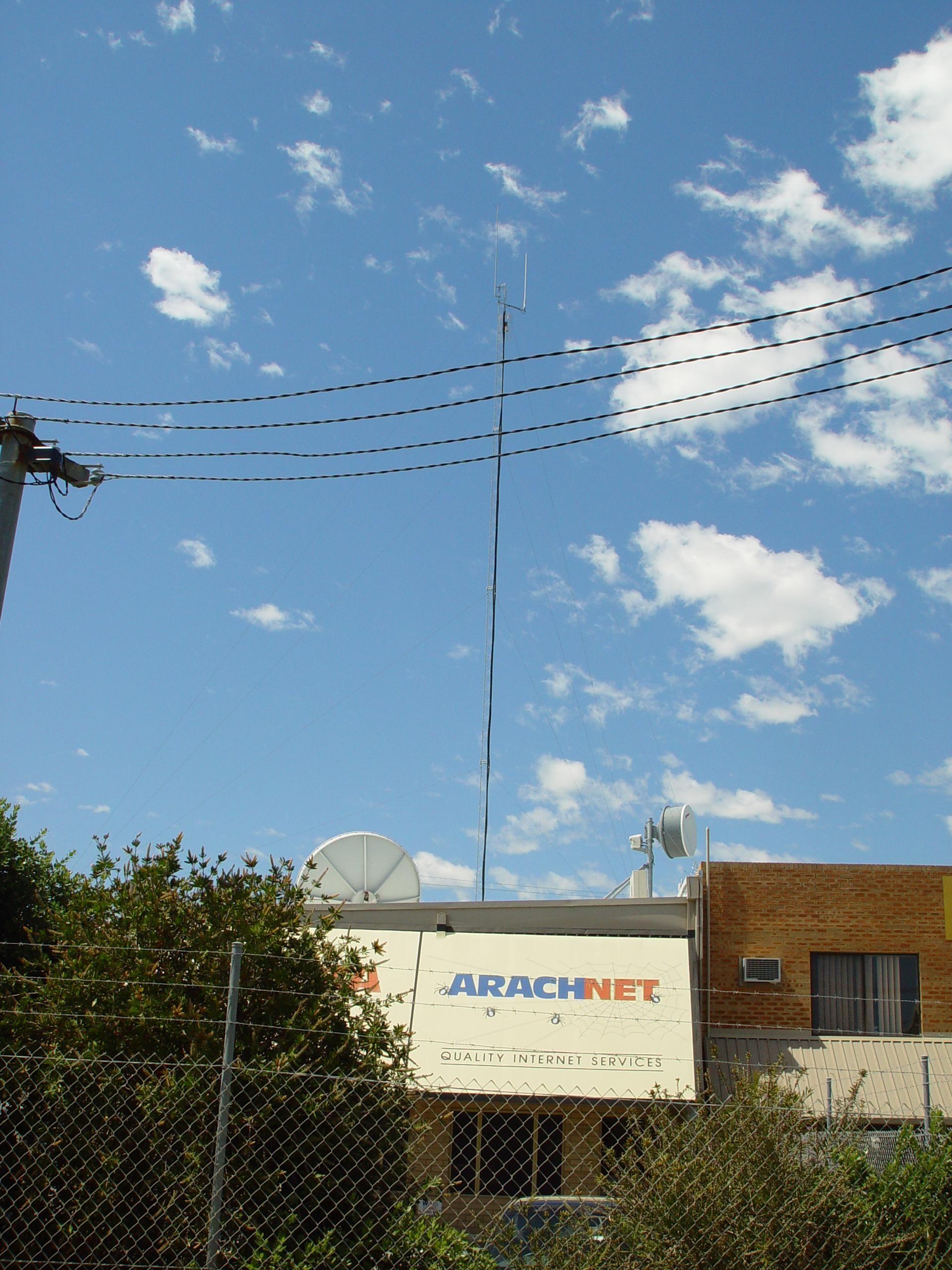 Microwave Satellite Dishes Arachnet