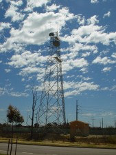 microwave, relay, tower, dishes