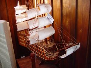 model, sailing, ship