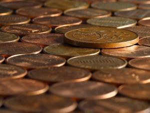 Penny, πένες, νομίσματα, χάλκινα