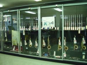 instrumente muzicale, display, cabinet