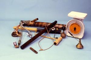 items, representing, homemade, devices, marijuana, smokers, repertoire