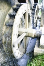 old, mill, whell