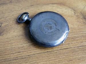 παλιά, τσέπη, ρολόι